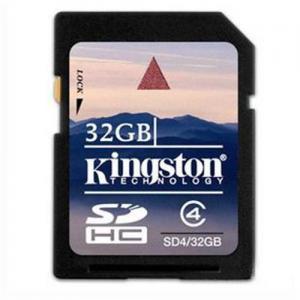 China 32GB kingston SDHC SD memory card on sale