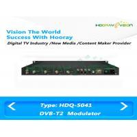 Wireless T2 - MI Digital TV Modulator , Terrestrial COFDM DVB T2 Modulator