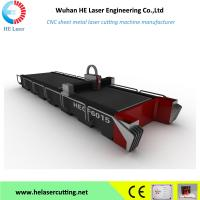 Carbon Tube & Sheet  Metal Fiber Laser Cutting Machines For 1mm / 3mm / 5mm Metals