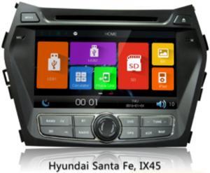 China 2 Din Car Gps Navigation System For Hyundai Ix45 / New Santa Fe , Car Audio Dvd Player on sale