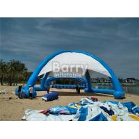 Outdoor Airtight Big Inflatable Dome Tent For Event , Inflatable Beach Tent