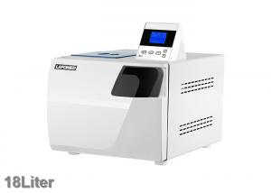 China White Color Dental Autoclave Class B , Dental Clinic Autoclave 18 Liter on sale