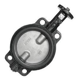 China Válvula de borboleta de aço inoxidável do disco do estilo da bolacha com corpo dútile Cola Epoxy-revestido do ferro on sale