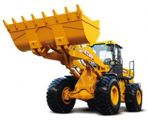 China LW500FN Wheel Loader Earth Moving Machinery With Intelligent Operation on sale