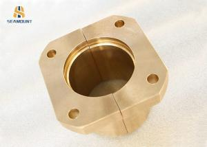 China Casting Lead Bronze Copper CNC Machining Half Bearing on sale