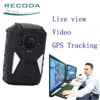 Security Guard Wireless 4G Body Camera Live View 1440P Weatherproof For  Police