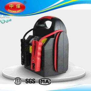 China portable 12V/220V jump starter,tire inflator, LED Lamp, tire pressure tester,multi-function Jump Starter on sale