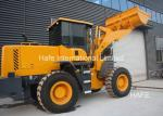 Forklift Compact Wheel Loader Zl30 Wolf Wl300 3 Ton Water Cooled / Four Stroke Engine Type