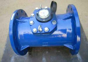 China Dn80 Commercial Flow Meter , Positive Displacement Woltman Water Meter on sale