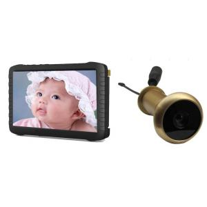 China 100M Range No Interference 5.8G Wireless Door Peephole Camera with DVR on sale