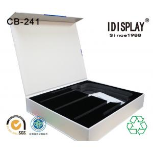China High End Rigid Cardboard Magnetic Closure Gift Box With Cut Out Eva / Foam Insert For Phone on sale