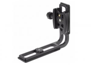 China Black Anodized Aluminum Quick Release Tripod CNC Camera Mounting Plate on sale
