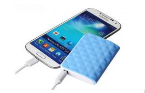 China 2400mah 18650 Portable Mobile Power Bank , Li - ion Mobile Phone Battery Charge on sale
