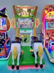Chenshou arcade machine horse simulator coin operated kiddie rides for sale