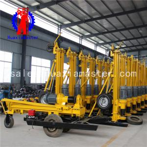 China Supply pneumatic drilling machine small water well drilling rig self-propelled DTH drill cash on delivery on sale