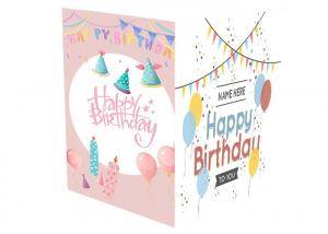 China Holiday Musical Greeting Cards A5 A6 Sound Chip Foil Materail With 3GB Battery on sale