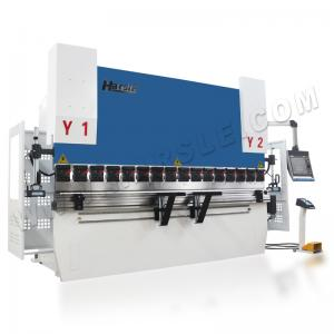 China CNC Synchronized  110T DA66T Controller Capacity 3200mm Length Press Brake Machine on sale