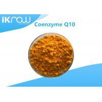 Supplement USP Grade Coenzyme Q10/COQ10 99.9% Cas 303 98 0 Orange crystalline powder