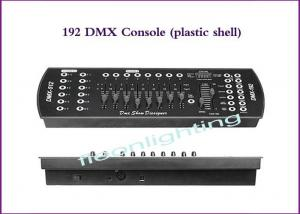 China 10W DMX Lighting Controller DMX 192CH Console With Plastic Shell on sale
