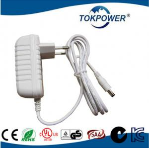 China 24 watt 12V 2A  Universal AC DC Adapter Wall Mount Power Supply for LED Digital on sale