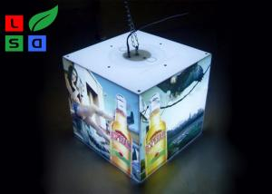China 40 Watt LED Cube Light Box 3030 SMD LED Module Light With Ceiling Hanging Kits on sale