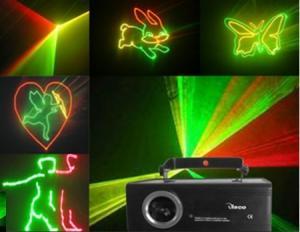 China DMX Christmas 300mw RGB DMX Laser Lights effect for concert / stadio on sale