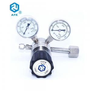China Chemical Lab Laboratory Female Connection End 70 bar Outlet Helium gas regulator for Helium Bottle on sale