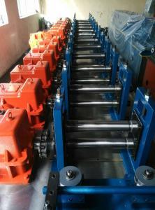 China Tubo del agua de lluvia de la impulsión de la caja de engranajes que forma el mtr de los rodillos 0 - 70 de la máquina 7/la velocidad mínima on sale