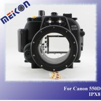caisse imperméable de caméra, caisse sous-marine de caméra, équipement de plongée sous-marin pour le canon 550D