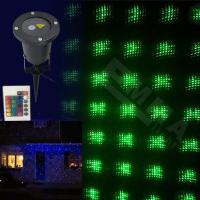 Red and green static waterproof laser light/outdoor garden laser light/elf lights