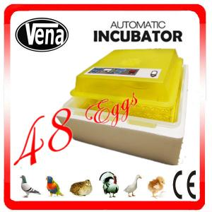 China Best price incubator for parrot egg hatching incubators for hatching eggs for sale VA-48 on sale