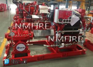 China Ul Listed 1000usGPM@140PSI diesel DRIVER SPLIT CASE Pump set on sale