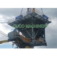 Robust Design Dust Discharge Hopper Wheel Mounted Large Stowing Surface