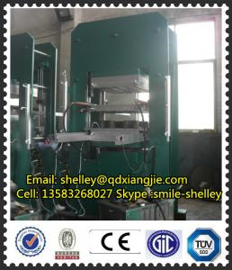 China rubber mat rubber floor making machine on sale