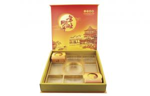 China Customized Moon cake packaging gift boxes with insert  blister on sale