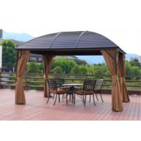 Leisure Garden Gazebo Exhibition Tent Outdoor Pavilion Waterproof Sunshine Wedding Metal Roof Pavilion