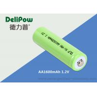 AA NIMH Rechargeable Battery 1600mAh Environmentally Friendly