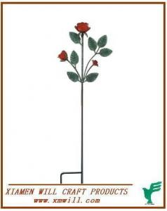 China Metal Garden Stake/Stakes/Stick-artifical Flower on sale