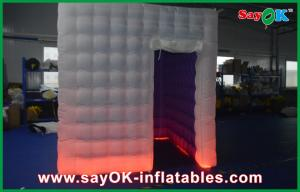 China Colourful Led Lighting Photo Booth Tent Inflatable For Family Use on sale