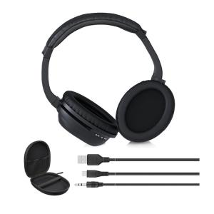 China over ear bluetooth headphone and wireless earphone active noise cancelling headphones with mic on sale