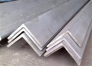 China 4 x 4 Equal Stainless Steel Unequal Angle Bar / Angle Iron , DIN 321 , 430 on sale