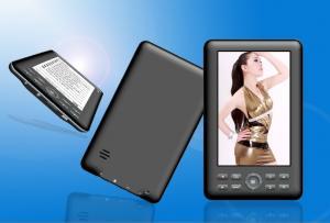 China 720P album Multifunction Portable Ebook Reader with RM RMVB AVI MPG MPEG MP3 WMA on sale