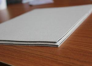 China Silicon and woolen laminated pad for smart card laminating machine A4 size on sale