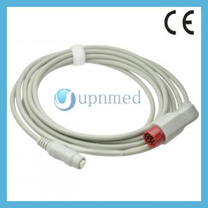 China Mindray 12P to Philips 4 pin transducer IBP Cable on sale