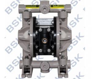China Membrane Pneumatic Double Diaphragm Pump Alkali Diaphragm Pump For Construction Industry on sale