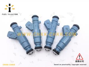 China Blue Car Fuel Injector 0280155795 Bosch Nozzle Valve 1984C3 EV6C on sale