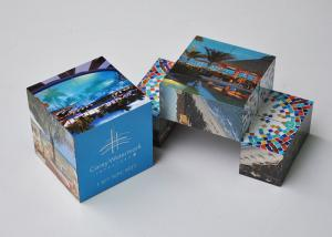China CMYK Printing Promotional Puzzle Cubes Plastic Pp Toy For Advertising on sale