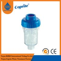 Refillable Washing Machine Filters Remove Chlorine Fluoride / Phosphate Filter Cartridge