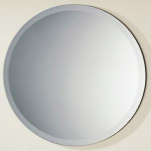 China 3mm Silver Processed Beveled Edge Mirror Glass For Bathroom Wall on sale
