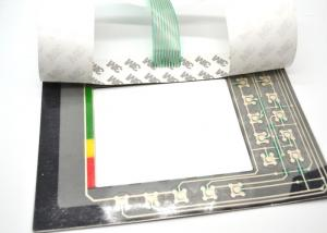 China Colorful Metal Dome Membrane Switch Screen Printing Surface Treatment on sale
